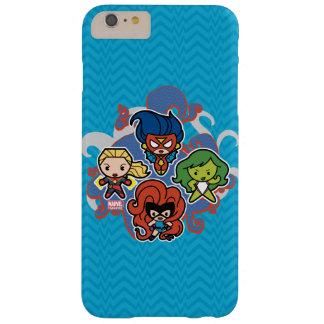 Héroïnes superbes de merveille de Kawaii Coque Barely There iPhone 6 Plus