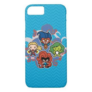 Héroïnes superbes de merveille de Kawaii Coque iPhone 7