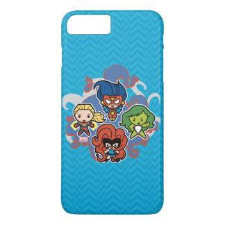 Héroïnes superbes de merveille de Kawaii Coque iPhone 8 Plus/7 Plus