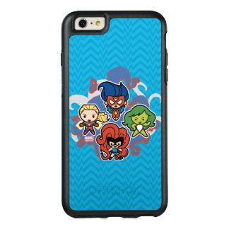 Héroïnes superbes de merveille de Kawaii Coque OtterBox iPhone 6 Et 6s Plus