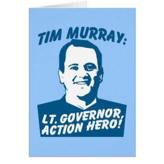 Héros d'action de Tim Murray Carte De Vœux