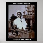 Héros noirs de mois d'histoire - vérité de Sojourn Posters