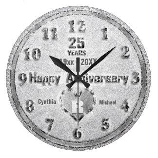 het 25ste Jubileum van de Zilveren bruiloft Grote Klok
