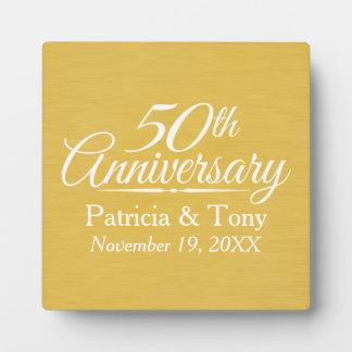 het 50ste Jubileum van het Huwelijk Fotoplaat