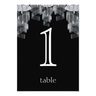Het Aantal van de Lijst van het Jubileum van de 12,7x17,8 Uitnodiging Kaart