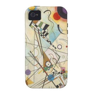 Het Abstracte art van Kandinsky iPhone 4/4S Case