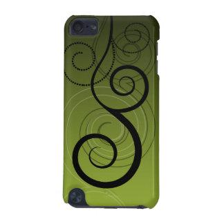 Het abstracte Hoesje van Wervelingen iPod
