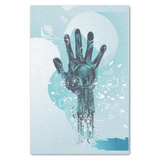 Het abstracte Papieren zakdoekje van de Hand van Tissuepapier