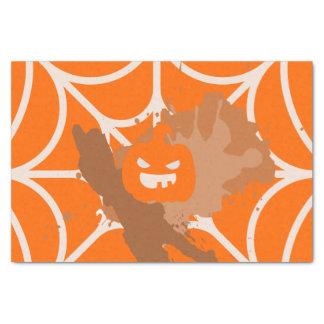 Het abstracte Papieren zakdoekje van de Pompoen Tissuepapier