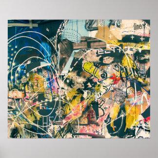 Het abstracte Poster van het Afbeelding