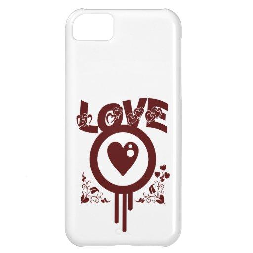 Het aftappen de Liefde van het Hart. Funky Vectors iPhone 5C Cases