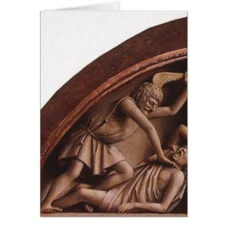 Het Altaar van januari van Eyck- The Gent (detail) Kaarten
