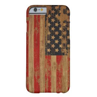 Het Amerikaanse Hoesje van de Vlag Barely There iPhone 6 Hoesje