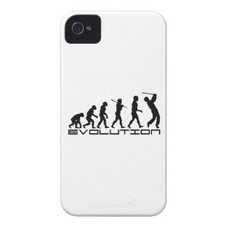 Het Art. van de Evolutie van de Sport van Golfing  iPhone 4 Cases