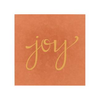 Het Art. van de Muur van de vreugde Hout Afdruk