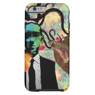 Het Art. van Frankenstein van Trippy Tough iPhone 6 Hoesje