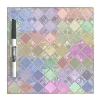 Het Art. van het Mozaïek van de Tegels van de Whiteboard
