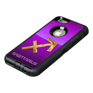 Het Astrologische Teken van de Boogschutter OtterBox Defender iPhone Hoesje
