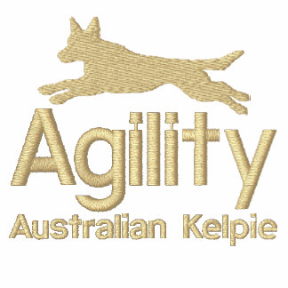 Het Australische Kelpie Geborduurde Overhemd van d