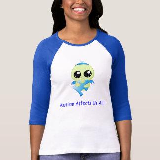 Het autisme beïnvloedt - Baby Cthulhu T Shirt