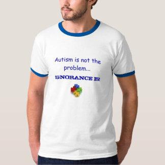 Het autisme is niet het Aangepaste probleem - T Shirt