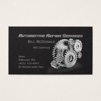 Het automobiel Visitekaartje van de Reparatie Visitekaartjes