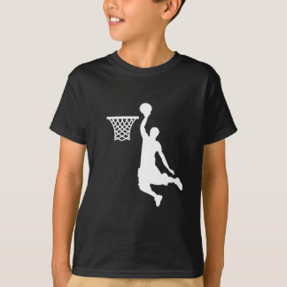 Het basketbal is grote sporten t shirt