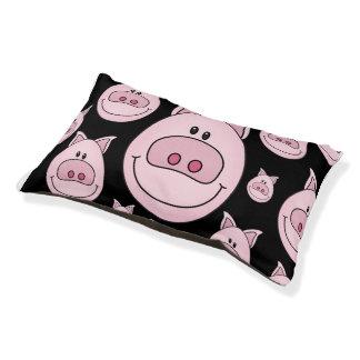 Het Bed van het Huisdier van het Gezicht van Piggy Hondenbedden