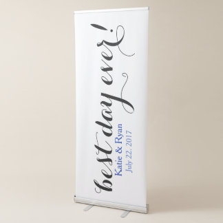 Het beste Teken van de Ontvangst van het Huwelijk Roll-up Banner