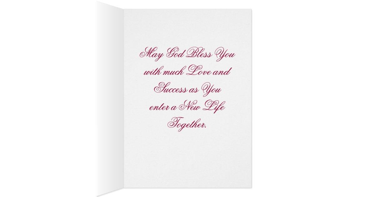 Het beste van huwelijk wens past aan wenskaart zazzle
