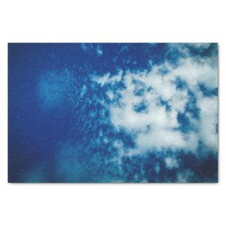 Het bewolkte Papieren zakdoekje van de Hemel Tissuepapier
