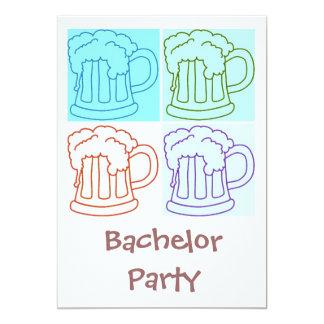 Het Bier van de Partij van de vrijgezel Kaart