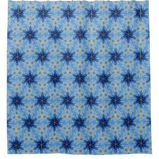 Het blauwe Gordijn van de Douche van de Gordijn 0