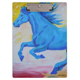 Het blauwe Paard Klembord