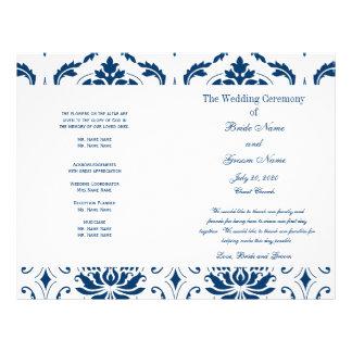 Het blauwe Vintage Programma van het Huwelijk van