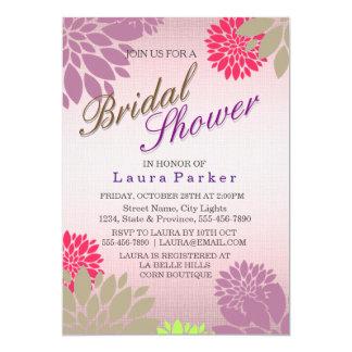 Het bloemen Huwelijk van het Vrijgezellenfeest van Kaart