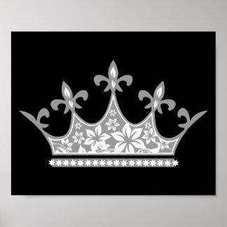 Het bloemen Poster van de Kroon
