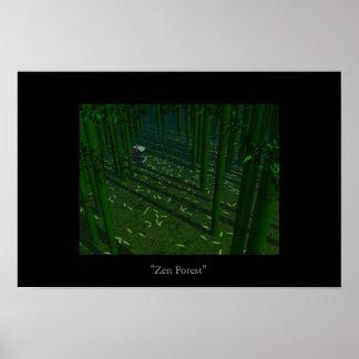 Het Bos van Zen Poster