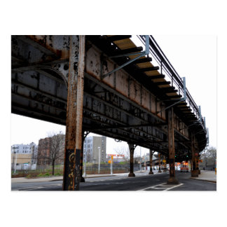 Het Briefkaart van de Steun van het Viaduct van de