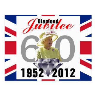 Het Briefkaart van het diamanten jubileum