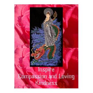 Het briefkaart van het medeleven