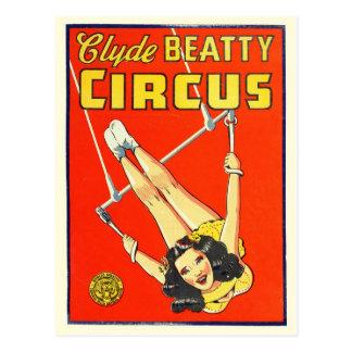 Het Briefkaart van het Poster van het circus