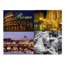 Het briefkaart van Rome Wens Kaart