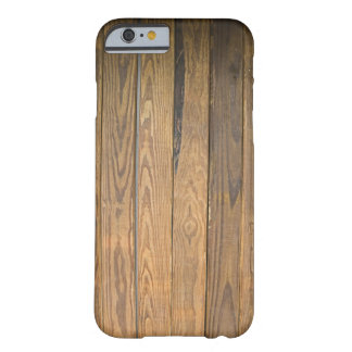 Het bruine Houten Kijken Patroon Barely There iPhone 6 Hoesje