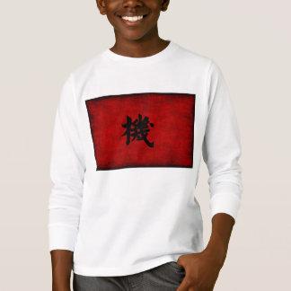 Het Chinese Symbool van de Kalligrafie voor Kans T Shirt