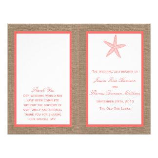 Het collectie van het Huwelijk van het Strand van Flyer 21,6 X 27,9 Cm