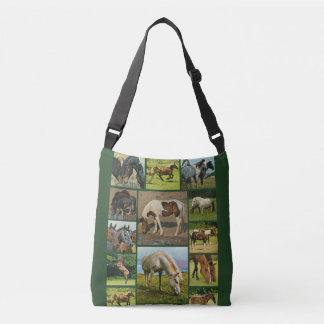 Het Collectie van wild paarden Crossbody Tas