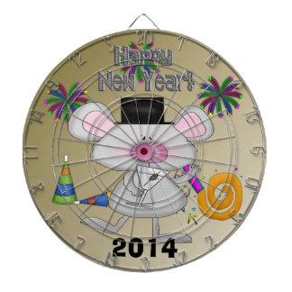 Het Dartboard van de Muis van het nieuwjaar Dartbord