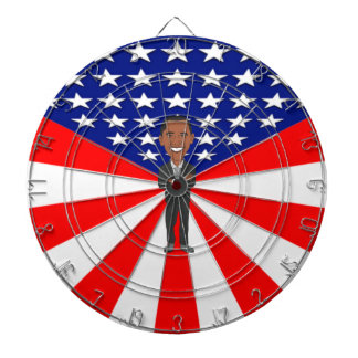 Het Dartboard van Obama Dartbord