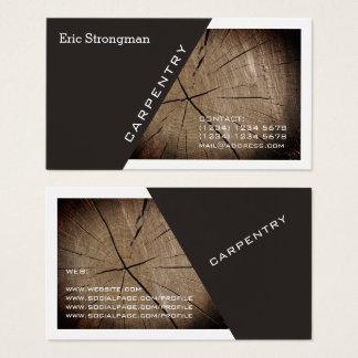 Het de moderne diagonaal en lijst van de visitekaartjes